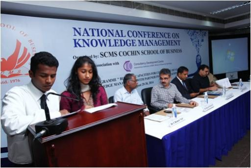 National Conference on Knowledge Management hosted by SCMS Cochin